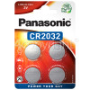 Panasonic CR2032 Lithium Coin Battery - Pack Of 4