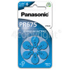 Panasonic PR675 Hearing Aid Battery