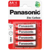 Panasonic AA Zinc Carbon Batteries