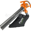 Flymo PowerVac 3000 Garden Blower Vacuum