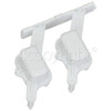 Whirlpool Option Button Assembly - White