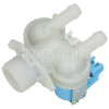 Creda Double Solenoid Inlet Valve ; 180Deg. With Protected (push) Connector Tag Pins