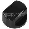 Hotpoint E604X Hob Control Knob - Black
