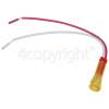 Yellow / Amber Signal / Indicator Neon Lamp - Power