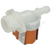 Creda Hot Water Single Solenoid Inlet Valve : 180Deg. With Protected Tag Fitting & 12 Bore Outlet
