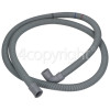 Hisense 1.88mtr. Drain Hose 21mm End With Right Angle End 21mm, Internal Dia.S' Also Fits Gorenje
