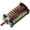 Beko BIM260N0X Hob Function Selector Switch EGO 42.0800.025/Gottak 880808K