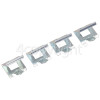 Whirlpool ACM 898/BA Clamping Spring - Pack Of 4