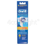 Genuine Oral B EB20-3 Precision Clean Toothbrush Heads (Pack Of 3)