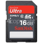 Genuine Sandisk Ultra SDHC Memory Card 16GB