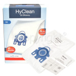 Genuine Miele GN HyClean 3D Efficiency Dust Bag & Filter Kit - Pack Of 4 Bags