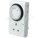 Wellco 24 Hour Plug-In Segment Timer - UK Plug