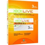 Genuine Microsoft Xbox Live 3 Month Gold Membership Card