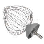 Genuine Kenwood Major Balloon 12 Wire Whisk Aluminium - New Circlip Shaft