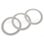 Genuine Kenwood Liquidiser Sealing Rings (Pack Of 3)