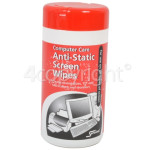 Genuine Servisol Anti-Static Screen Wipes (100 Cleaning Wipes)