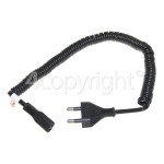 Genuine Philips 2 Pin Shaver Curly Mains Lead