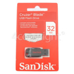 Genuine Sandisk Cruzer Blade 32GB USB Flash Drive