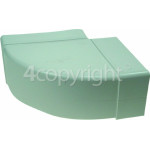 4ourhouse Approved part Horizontal Bend Ducting: 90 Deg - 110mm X 54mm