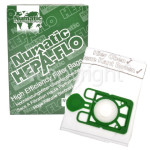 Genuine Numatic NVM-1CH - 3 Layer Hepaflo Filter Dust Bag (Pack Of 10)