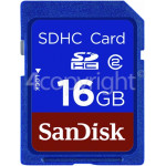 Genuine Sandisk SDHC Memory Card 16GB