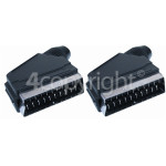 4ourhouse Approved part Standard Scart Lead - 1.5M