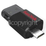 Genuine Sandisk Ultra 16GB Dual USB Flash Drive
