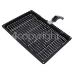 Genuine Hotpoint Universal Grill Pan Complete : 380 X 280 X 40