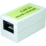 Genuine Philex CAT5E UTP RJ45 Inline Coupler