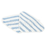Genuine Hoover AC33 Microfibre Textile Mop Pads (Pack Of 2)