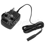 4ourhouse Approved part UK Window Vacuum Mains / Battery Charger : Input 100v To 240v Output 5.5v