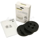 Genuine Karcher High Polish Polishing Pad Set - Pack Of 3