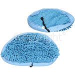 4ourhouse Approved part Steam Cleaner Microfibre Coral Pads (Pack Of 2)