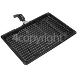 4ourhouse Approved part Universal Grill Pan : 380 X 275 X 40mm