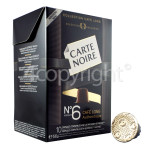 Genuine Carte Noire Cafe Lungo No.6 Authentique Coffee Pods (Pack Of 40)