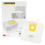 Genuine Karcher Fleece Paper Bag (Pack Of 5)