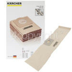Genuine Karcher Dust Bag (Pack Of 5)