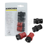 Genuine Karcher Round Brush Set (Nylon) - Pack Of 4