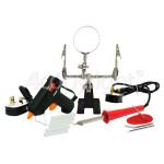 Genuine Rolson Soldering & Glue Gun Kit