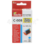 Genuine Inkrite Compatible Canon CLI-8C Ink Cyan Cartridge