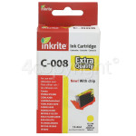Genuine Inkrite Compatible Canon CLI-8Y Yellow Ink Cartridge