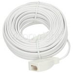 4ourhouse Approved part 10M Telephone Extension Lead