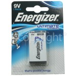Genuine Energizer Ultimate Lithium 9V Battery