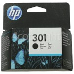 Genuine Hewlett Packard Genuine No.301 Black Ink Cartridge (CH561EE)