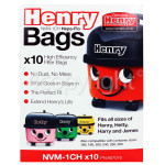 Genuine Numatic NVM-1CH 3 Layer Hepaflo Filter Dust Bag (Pack Of 10)