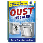 Genuine Oust Descaler: Dishwasher & Washing Machine (2 X 50ml Sachets)