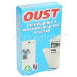 Genuine Oust Descaler: Dishwasher & Washing Machine (2 X 50ml Sachets)