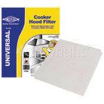4ourhouse Approved part Universal Cooker Hood Grease Filter With Saturation Indicator ( 1140x470mm ) CUT TO SIZE