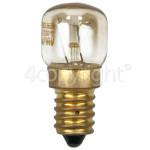 Genuine Merloni (Indesit Group) 15W SES (E14) Oven 300c / Refrigerator Lamp