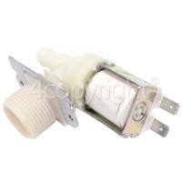 Hoover Hot Water Single Solenoid Inlet Valve : 90Deg. With 12 Bore Outlet